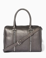 Charming charlie Woven Chains Satchel