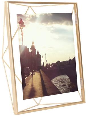 "Umbra Prisma Photo Frame, Matte Brass, 8""x10"""