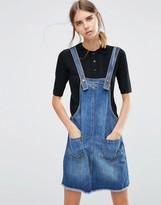 Vero Moda Denim Overall Mini Dress