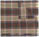 Hackett plaid scarf