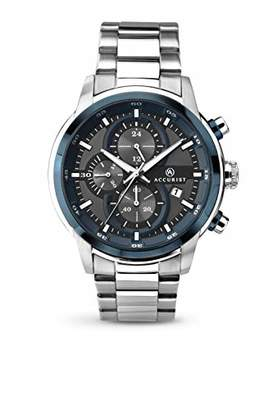 Accurist Mens Chronograph Quartz Watch with Stainless Steel Strap 7039