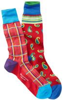 Bugatchi Crew Dress Sock - Pack of 2