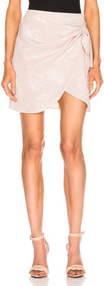 Caroline Constas Koren Skirt in Blush | FWRD