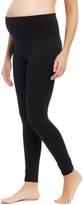 Motherhood Pull On Fleece Maternity Leggings