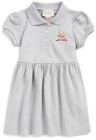 Gucci Cat Embroidered Polo Dress (Baby Girls & Toddler Girls)