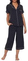 Kate Spade Clover Heart Cropped Modal Pajama Set