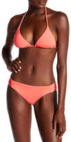 Becca Color Cobe Shirred Side Full Coverage Bikini Bottoms