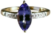 Blue Nile Tanzanite 14K Gold Marquise Ring