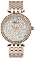 Caravelle New York by Bulova Women's Crystal Two Tone Stainless Steel Watch - 45L166