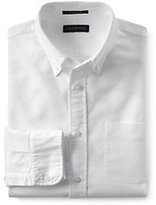 Classic Men's Slim Fit Sail Rigger Oxford Shirt-Black/White Floral