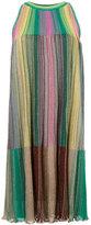 M Missoni rainbow dress - women - Polyester/Viscose/Metallic Fibre/Polyimide - 38