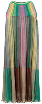 M Missoni rainbow dress - women - Polyester/Viscose/Metallic Fibre/Polyimide - 40