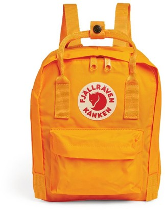 Fjallraven Mini Kanken Logo Badge Backpack