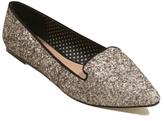 George Embellished Pointed Toe Ballet Shoes
