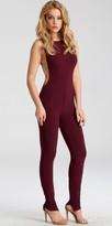 Jovani Jersey Open Back Form Fitting Jumpsuit