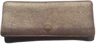 Mulberry Metallic Leather Wallets