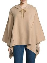 See by Chloe Hooded Knit Poncho