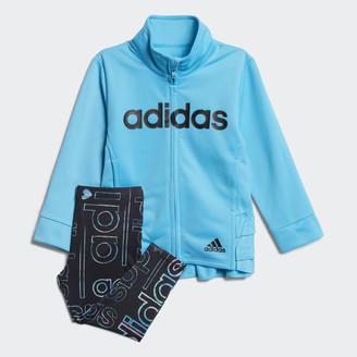 adidas Hyperreal Jacket and Tights Set