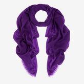 Bally Lightweight Cashmere Stole Purple, Women's cashmere scarf in purple