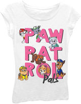Asstd National Brand Paw Patrol Girls' Paw Patrol Pals Short Sleeve Graphic T-Shirt with Crystalline