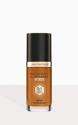 Coty Max Factor Facefinity All Day Flawless Foundation Warm Hazelnut