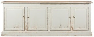 "Sarreid Ltd. Lyon 87"" Wide Pine Wood Sideboard"