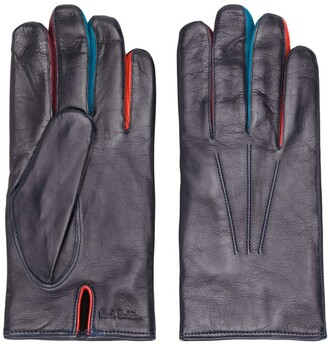 Paul Smith Contrasting Finger Gloves