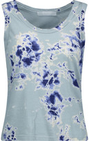 Kain Label Beryl Tie-Dyed Stretch Cotton And Modal-Blend Tank