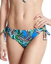Shoshanna Palm-Print String Swim Bikini Bottom