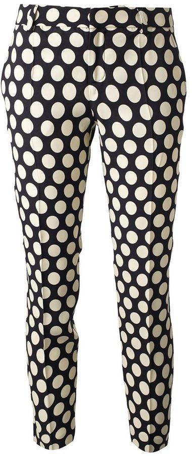 Ungaro polka dot print trouser