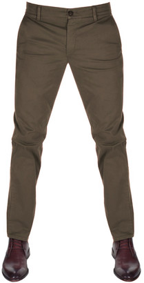 Boss Casual BOSS Schino Slim D Chinos Brown