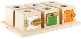 Guidecraft Set Of Six Peekaboo Lock Boxes