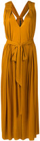 Barbara Bui mustard grecian dress - women - Lyocell - One Size