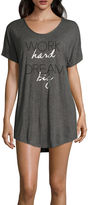 Asstd National Brand Danskin Dolman Sleeve Sleep Shirt