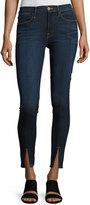 Frame Le High Split-Front Skinny Jeans, Indigo
