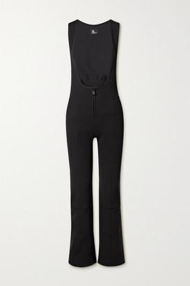 MONCLER GRENOBLE Tuta Shell-trimmed Stretch-twill Ski Suit - Black