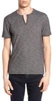 John Varvatos Men's Notch Henley T-Shirt