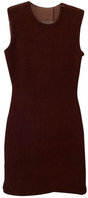 Alexander Wang Burgundy Silk Dresses