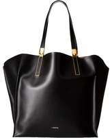 Lodis Blair Unlined Lucia Travel Tote Satchel Handbags