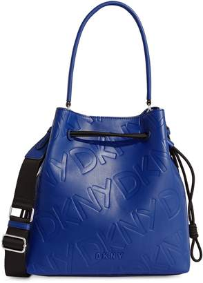 DKNY Jude Drawstring Bucket Bag