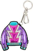 DSQUARED2 metallic Glam Flash keychain - women - Calf Leather/Polyester/Polyurethane - One Size