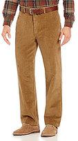 Roundtree & Yorke Flat Front Inno-Flex Waist Corduroy Pants