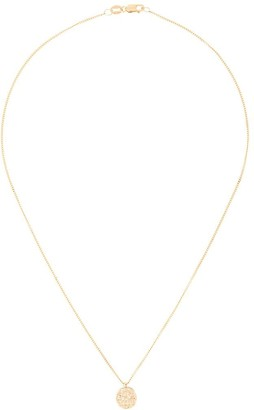 NATASHA SCHWEITZER 9kt Gold Coin Pendant Necklace