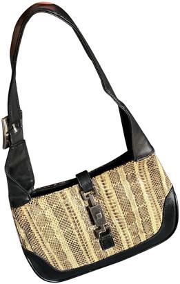 Non Signã© / Unsigned Black Exotic leathers Handbags