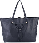 Borbonese tassel-embellished tote - women - Leather - One Size