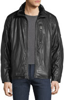 Andrew Marc Hopkins Faux-Leather Jacket