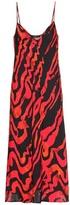 Ellery Printed silk-blend dress