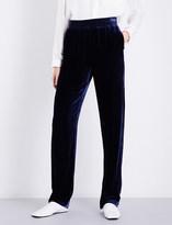 Dion Lee Wide-leg velvet trousers