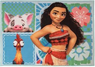 Disney Disney's Moana Patchwork Rug - 4'6'' x 6'6''