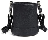Simon Miller Bonsai Pebbled Leather Crossbody Bucket Bag - Black